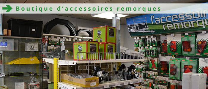 Boutique d'accessoires de remorques