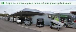 Espace Remorques, fourgons, vans et plateaux