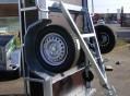 Remorque bois 1 essieu ptac 500 kg, flèche en V