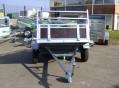 Remorque bois 1 essieu ptac 500 kg, flèche en V-