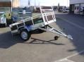 remorque bois 9400B Sorel 1 essieu Ptac 750 kg-